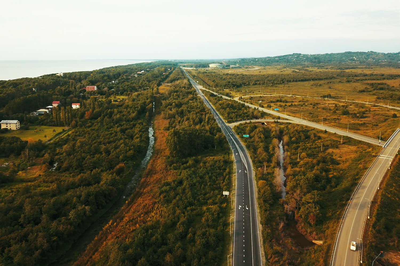 Senaki Poti Sarpi km 61 63